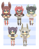 Tiny babies Set {CLOSED} by Eeyrie