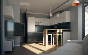 Small flat 001 by Geckly