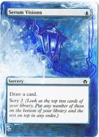 Magic Card Alteration: Serum Visions 7/8 2 by Ondal-the-Fool