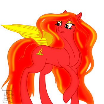 Qween Firestorm~ (first pic) by PregnancyLove
