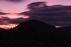 Castle silhouette by CharmingPhotography