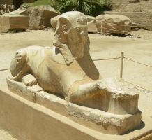 egyptian statue 4 by tailcat