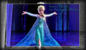 Frozen: Elsa Here She's Stands by Harley-Jay