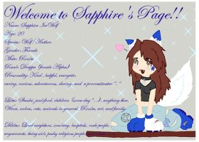 Sapphire's new ID chibi form by sapphire-blackrose