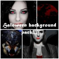 Halloween background pack!!! by BrunoEdits