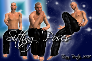 Sitting Poses by Stock-by-Dana