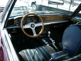 BMW 3.0 CSi Alpina coupe driver's office by RoadTripDog