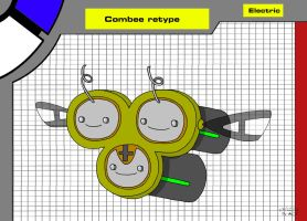 Combee electric retype by Axel-Comics