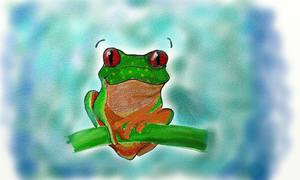 grenouille by tite-pao