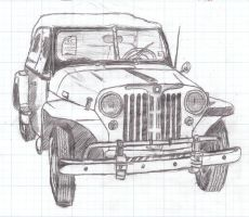 Willys Jeepster by Levn