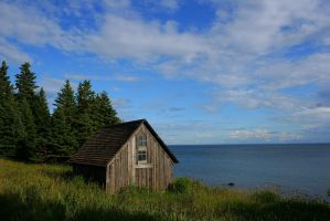 The Fishing Shack by entropy462