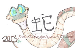 Year of the Snake by RiverEcho