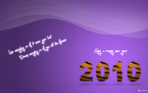 New year Wallpaper by richworks