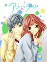 Ao haru ride by Robotic-Strawberry