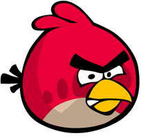 Vector Angry Bird by xQUATROx