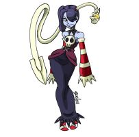SKULLGIRLS Squigly by bleyerart