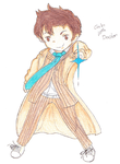Chibi 10th Doctor by XxEAltairRoxsAxX