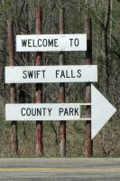 Direction to Swift Falls by jenny-in-ga