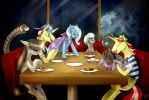 The Squad At iHOP by Tzelly-El