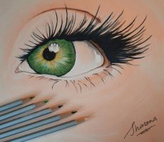 Real Eyes - Realize - Real Lies by SharonaHe
