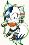 Funk-not the Arctic Fox (chibi) [Complete] by FantasyWriter16