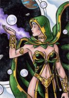 Spellcasters Sketch Card 7 by tonyperna