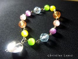 Multicolored Beads by StarBlackHeart