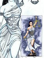 Lady Justice by JohnJohnstonArt