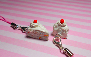 Funfetti Cake Charms by SucroseFiction