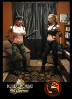 Sonya Vs Sonya by DANQUISH