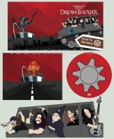 Dream Theater: Road to Wembley by ryuuza-art