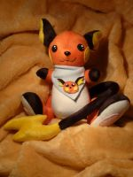 Raichu Plushie by Plushbox