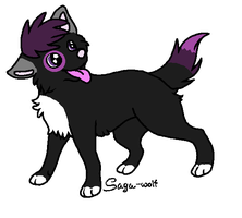 Wolf Adoptable **OPEN** by Exotic-Supernova