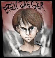 Eren Jaeger by CharlotteRay
