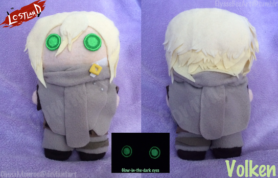 Commish- Volken Plushie by CinnaMonroe