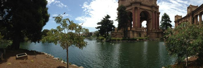 Palace of Fine Arts by Irechan