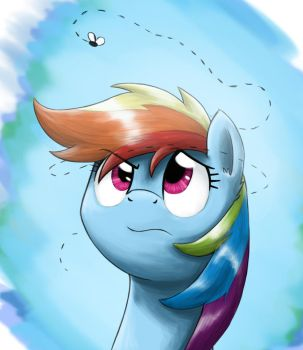 An Annoying Fly by otakuap