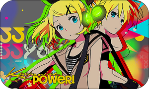 : Kagamine Power : Firma : by sakura-chan-des