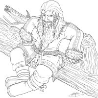 Just a chilling Fili by Elfeytha