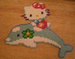 Hello Kitty Perler 2 by m0n0xide20