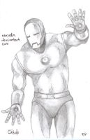 Iron Man Pencils by NexusDX