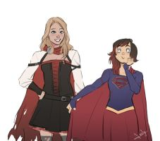 SuperRose(?) by lesly-oh