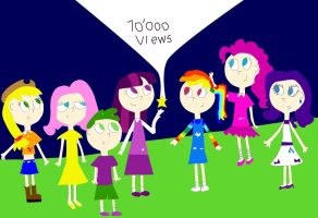 Everypony Watch This: Thanks for the 10000 Views by 04StartyOnlineBC88