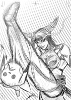 Juri Fights for Justice by ZhaxRa