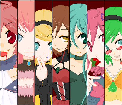 Evil Food Eaters VOCALOID by Pocky-Polka