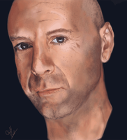 bruce willis detailed by cliffbuck