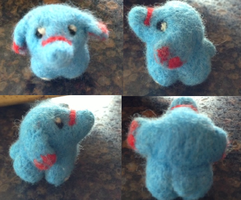 Needle Felt Phanpy by amandajo567