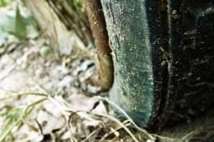 Old wheel by NorbertKocsis