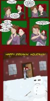 Happy Holidays from Head Trip by shinga