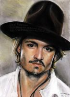 Johnny Depp in Pastels by Ogge87